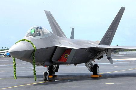 A very cute F-22.