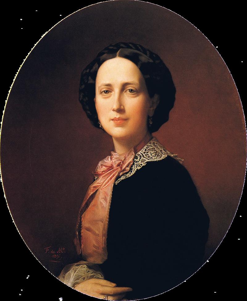 F. de Madrazo - 1856, Rosa Guardiola, Baronesa de Andilla (Colección particular, Madrid, 65 x 54 cm).png