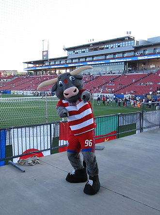 FC Dallas - Tex Hooper, the FC Dallas mascot