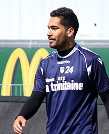 FC Lorient - May 24th 2013 training - Wesley Lautoa.JPG