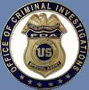 Office of Criminal Investigations - FDA-OCI logo