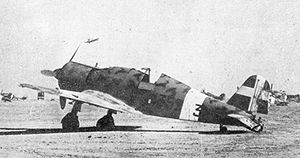 Air Force of the Independent State of Croatia -  The Italian designed and built Fiat G.50 was the first relatively modern fighter aircraft available to the ZNDH in reasonable numbers. Some were still in service in 1945. (a Fiat G.50 of the Regia Aeronautica is pictured)