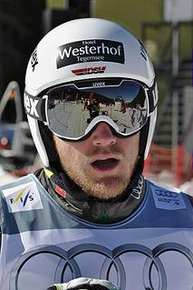 Simon Stickl German freestyle skier