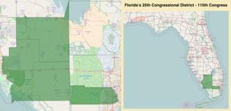 Florida's 25th congressional district - Florida's 25th congressional district - since January 3, 2017