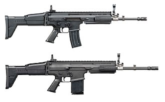 FN SCAR - FN SCAR-L 5.56×45mm and FN SCAR-H 7.62×51mm