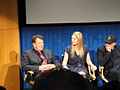 FRINGE On Stage @ the Paley Center - John Noble, Anna Torv, Akiva Goldsman (5741704130).jpg