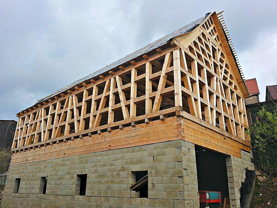Fachwerkhaus Rohbau