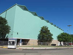 Fair Park Coliseum (Dallas) - Image: Fair Park Coliseum EXTERIOR