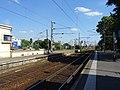 Faisceau de voies en provenance de Paris à l'entrée de la gare d'Argenteuil.jpg