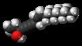 Falcarinol molecule spacefill.png