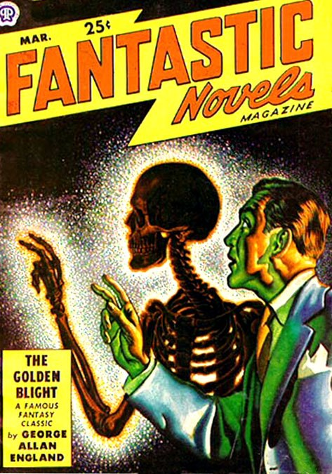 Fantastic Novels cover March 1949