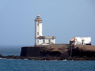 Farol de D. Maria Pia lighthouse in Cape Verde