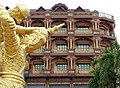 Faux-Colonial Facade with Sculpture - Kampong Cham - Cambodia (48328953252).jpg