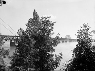 Honoré Mercier Bridge - Bridge in 1948