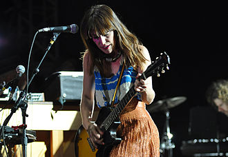 Feist (singer) - At Coachella, 2012
