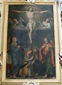 Felice Damiani e bottega, Crocifissione e santi, 1609 (2)