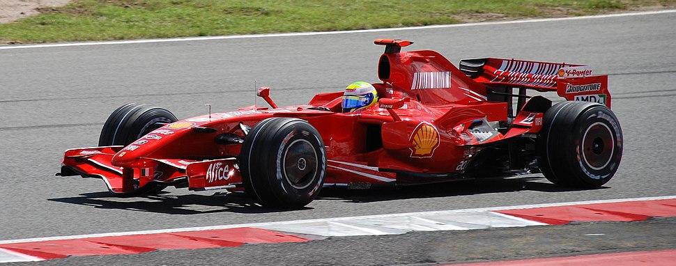 Felipe Massa 2007 Britain 2