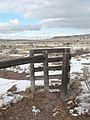 Fenced entrance into the walking trail at Timpas Creek Picnic Area in Comanche National Grassland (2) (35c2aa91a70c460c894ee1dbb813e8c4).JPG