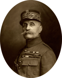 Ferdinand Foch French soldier and military theorist