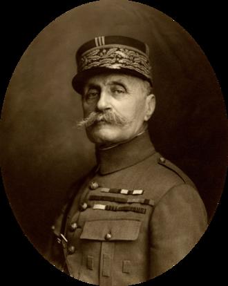 Ferdinand Foch - Marshal Foch in 1921