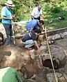 Ferrería de monte de Peñas Negras (Ortuella) excavación arqueológica.jpg