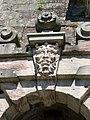 Festung Rosenberg - Festungstor - Schlussstein Fußgängerpforte außen.jpg