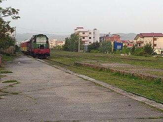 Fier - Train Approaching Fier