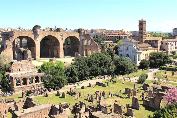 File-View from Palatine Hill 2011 4