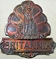 Fire mark for Britannia Fire Insurance Company in London, England.jpg