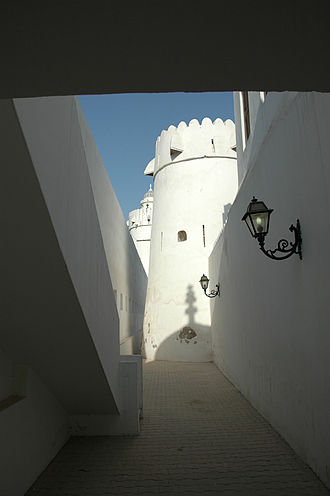 Emirate of Abu Dhabi - Qasr al-Hosn fort in Abu Dhabi, dating to the 18th century CE