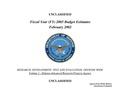 Fiscal Year 2003 DARPA budget.pdf