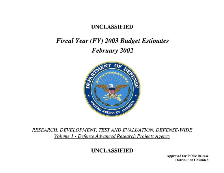 File:Fiscal Year 2003 DARPA budget.pdf