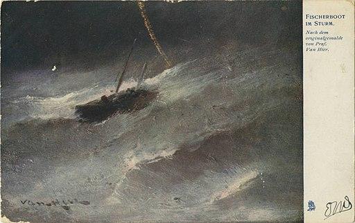 Fischerboot Im Sturm. (114) (NBY 419524)