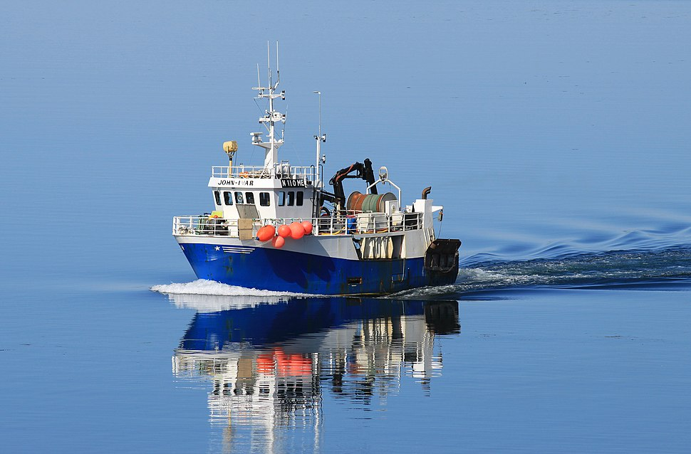 Fischerboot vor Bodø