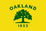 Flag of Oakland, California.svg