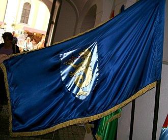 Varaždinske Toplice - Image: Flag of Varaždinske Toplice