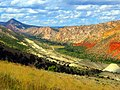 Flaming Gorges Nat Rec Area Wyoming ^ Utah Border ^^ Gorges Flamboyantes NRA - panoramio.jpg