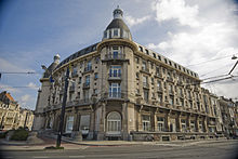 The Flandria Palace, a new-abandoned historic hotel
