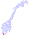 Flekkefjord location.png