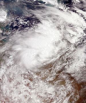 Tropical Low Fletcher - Image: Fletcher Feb 3 2014 0040Z