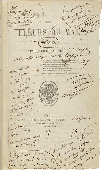 Français : Frontispice de l'édition de 1857 de...