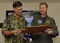 Flickr - Official U.S. Navy Imagery - VCNO receives a plaque..jpg
