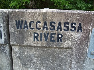 Waccasassa River - Image: Florida Waccasassa River bridge 01
