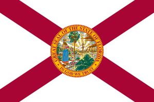 Metropolitan Light Infantry - Image: Florida state flag