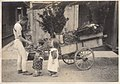 Flower Vendor with Cart in Japan (1914 by Elstner Hilton).jpg