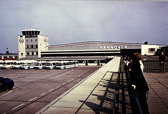 Hannover Airport - Hannover Airport in 1970