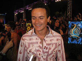 Fonseca (singer) - Fonseca at Lo Nuestro Awards in Miami, Florida