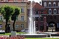 Fontanna na Placu Konstytucji 3 Maja w Bartoszycach. - panoramio.jpg