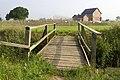 Foot bridge over drainage dyke. - geograph.org.uk - 484194.jpg
