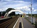 Footbridge, Portlethen Station - geograph.org.uk - 1409447.jpg